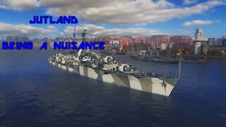 World of Warships - Jutland: Being A Nuisance
