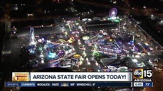 New rides and exhibits at the Arizona State Fair