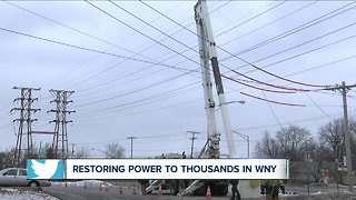 Power outages impacting Western New York