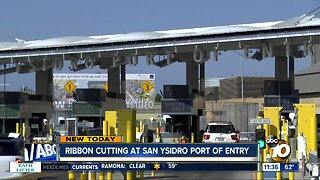 10-year project to expand San Ysidro Port of Entry completed