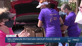 Millennium Physician Group Food Drive