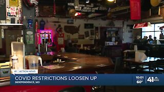 COVID-19 restrictions loosen in Independence