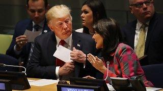 Nikki Haley And Donald Trump Weren't Always On The Same Page