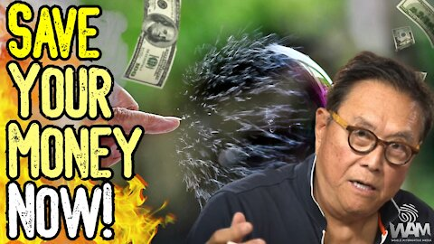 Robert Kiyosaki WARNS: BIGGEST Bubble In History! - SAVE Your Money NOW!