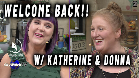 """WELCOME BACK TO THE """"SIMPLY HIS"""" COFFEE SHOP: INTRODUCING KATHERINE HORN & DONNA HOWELL!!"""