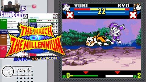 (NeoGeo Pocket Color) SNK vs. Capcom MotM - 32 - Tag Mode - Narcissist - Lv Gamer