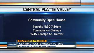 Central Platte Valley community open house tonight