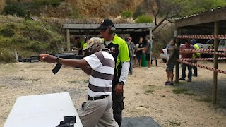 SOUTH AFRICA - Cape Town - Western Cape Firearms Festival (video) (wYN)