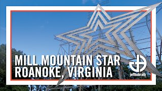 The largest free-standing man-made illuminated star in the world!