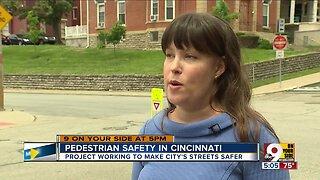 70 pedestrian safety improvements coming to Cincinnati