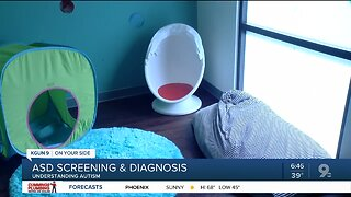 The screening, diagnosing process of autism