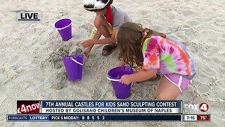 Golisano Children's Museum of Naples holds annual kids sand sculpting competition