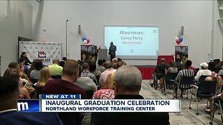 Graduation day at Northland Workforce Training Center comes with a combined million dollars in wages