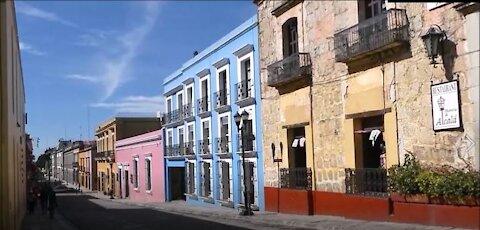 Wandering the Streets in Oaxaca