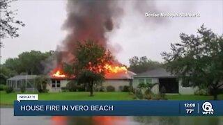 House fire in Vero Beach