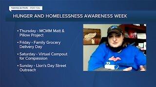 Hunger and Homelessness Awareness Week