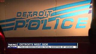 Police investigate fatal shooting of woman in Detroit