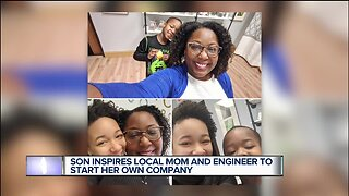 Son inspires local mom and engineer to start her own company