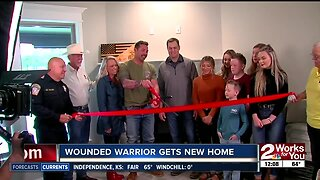 Wounded vet and family get mortgage-free home in Claremore