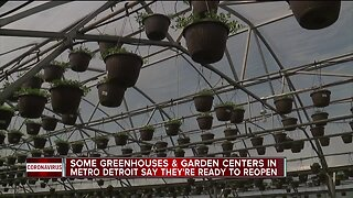 Some greenhouses, garden centers in metro Detroit say they're ready to reopen