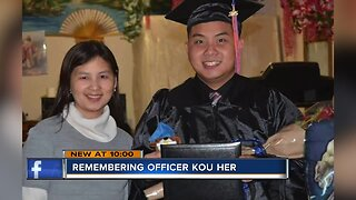 MPD Officer Her's family addresses suspect in crash