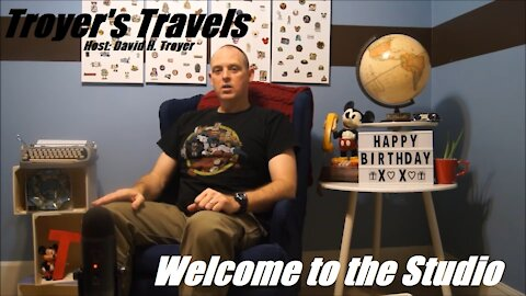 Welcome to the Studio with Troyer's Travels