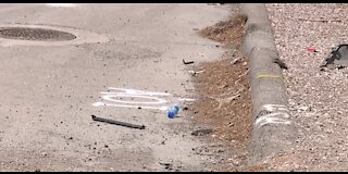Las Vegas motorcyclist dead after early morning crash