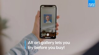AR art gallery lets you try before you buy!