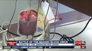 Battle of the Badges blood drive taking place tomorrow