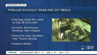Tampa Bay area school districts announce plans to feed students during closure