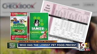 DWYM: Lowest pet food prices