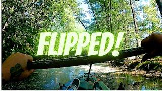 Flipped Kayak