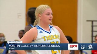 Martin County sends off senior with a win