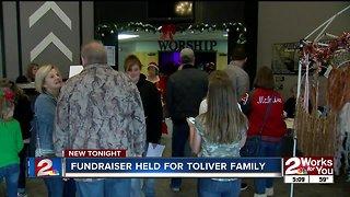 Fundraiser held for Toliver family