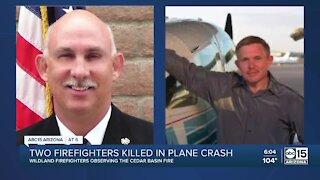 Two Arizona firefighters killed in plane crash