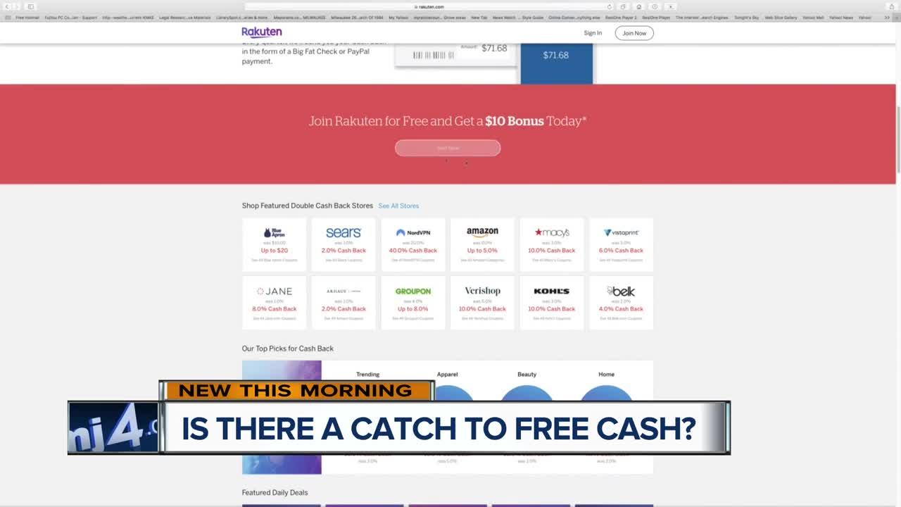 Four things you should know about cash-back websites
