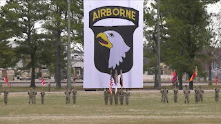 101st Airborne Division Change of Command Ceremony