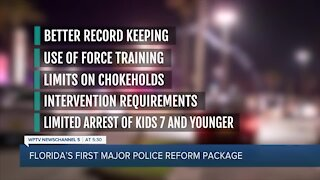 Police reform package heads to Florida Senate as session nears end