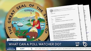 In-Depth: What a poll watcher is actually allowed to do