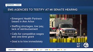 EMS agencies testify about staffing shortages, low pay