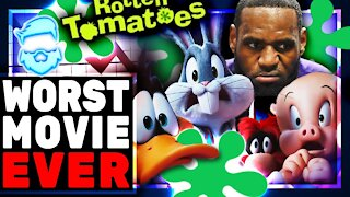 Epic Fail! Space Jam: A New Legacy SAVAGED By Critics & Lebron James EMBARASSED! Space Jam 2 TANKS