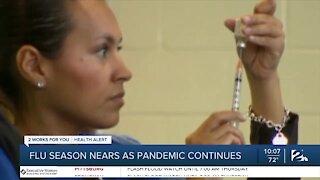 Flu season begins amid coronavirus pandemic
