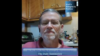 20201023 In Defense of Repugnance - The Daily Summation