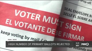 Ballots rejected over careless mistakes