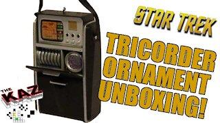 2018 Star Trek Tricorder Hallmark Keepsake Ornament Unboxing