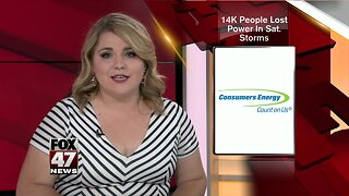 14k without power after severe weather Saturday