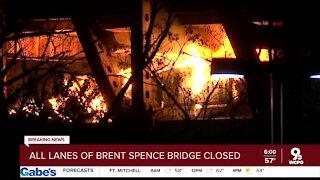 All lanes of Brent Spence Bridge closed