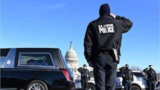 US Capitol Police Members Suspended After Violent Uprising