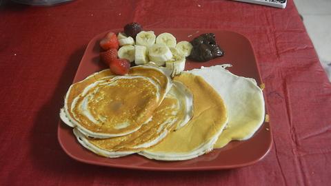 2-ingredients protein pancake recipe