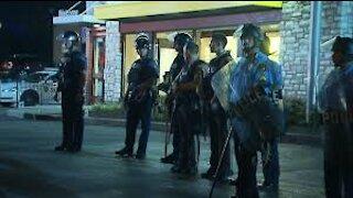 Restaurant Owner Fights Police Over Lockdown